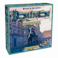 Schachtel Vorderseite, linke Seite - Dominion: Renaissance