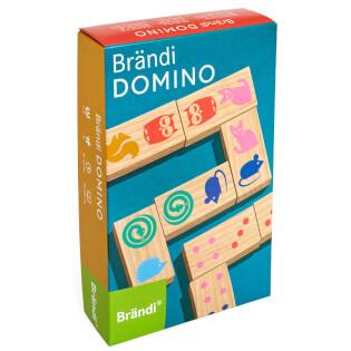 Schachtel Vorderseite- Brändi Domino
