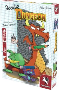 Schachtel Vorderseite- Doodle Dungeon