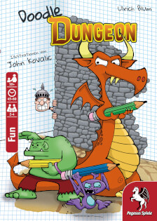 Cover- Doodle Dungeon