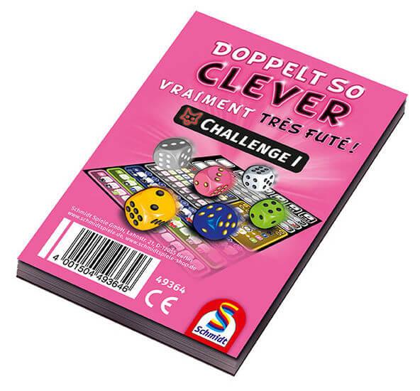 Spielhülle- Doppelt so clever – Challenge I