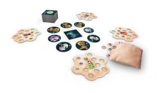 Spielmaterial  - empfohlen zum Kinderspiel des Jahres 2021- Traumfänger
