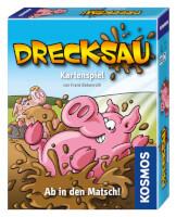 Schachtel Vorderseite, rechte Seite - nominiert zum Spiel des Jahres 2012 - Drecksau