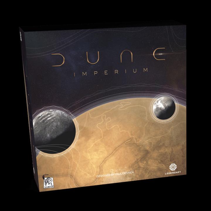 Schachtel Vorderseite- Dune Imperium