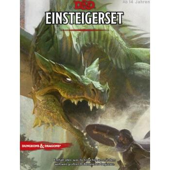 Schachtel Vorderseite- Dungeons & Dragons - Einsteigerset