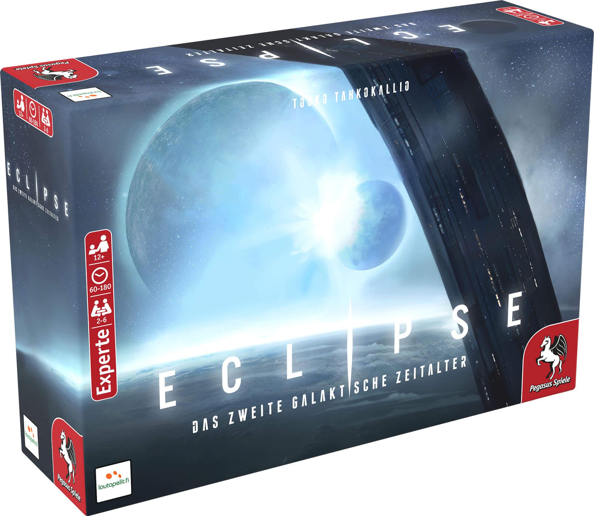 Schachtel Vorderseite links- Eclipse – Das zweite galaktische Zeitalter