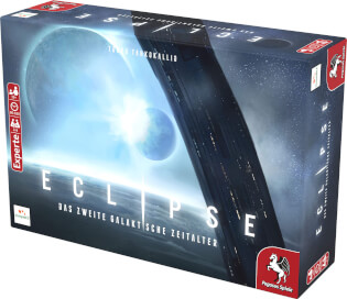 Schachtel Vorderseite rechts- Eclipse – Das zweite galaktische Zeitalter