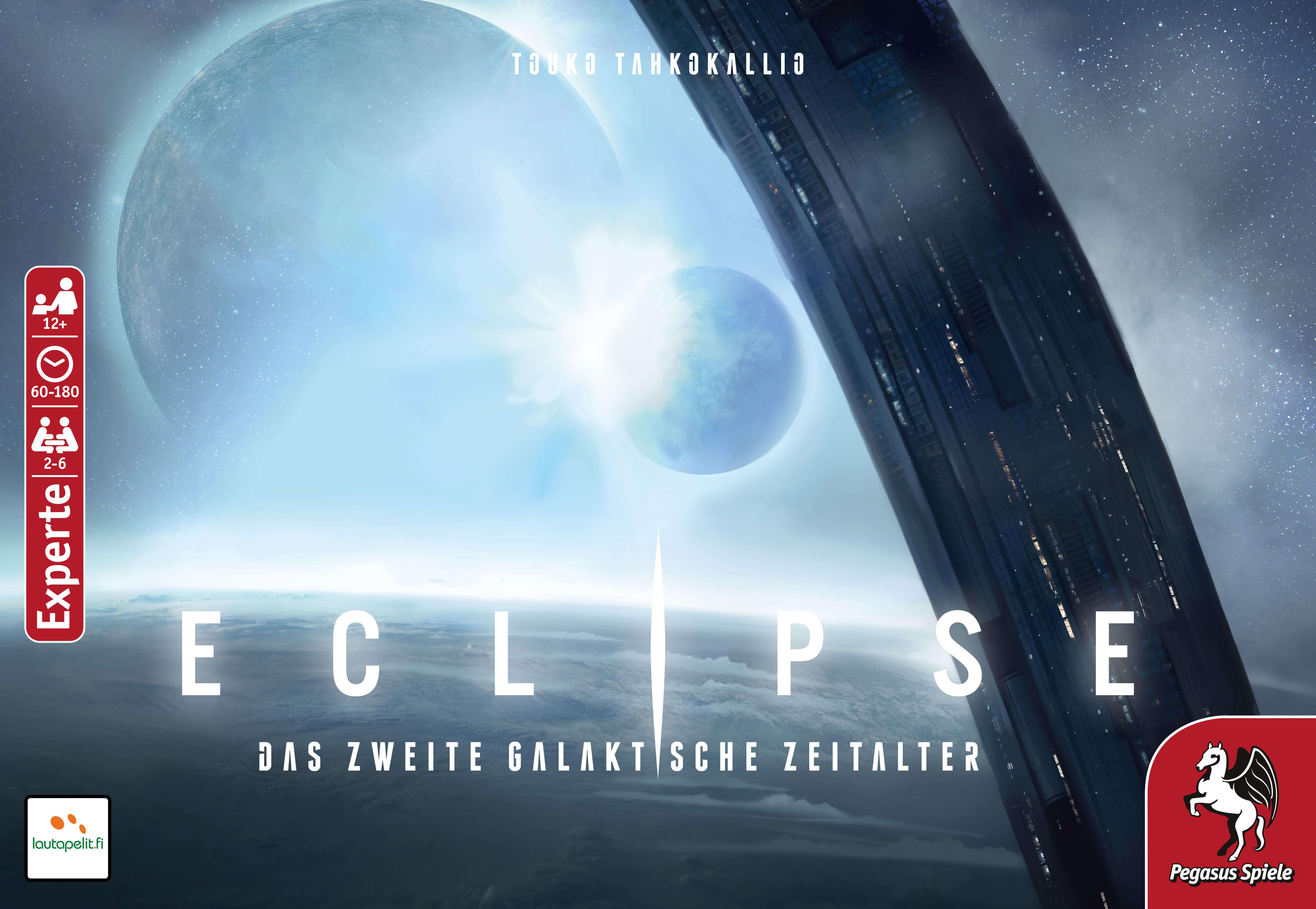 Schachtel Vorderseite- Eclipse – Das zweite galaktische Zeitalter