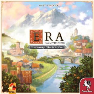 Schachtel Vorderseite- ERA – Das Mittelalter Flüsse & Straßen