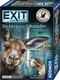 Schachtel Vorderseite- EXIT - Die Känguru-Eskapaden