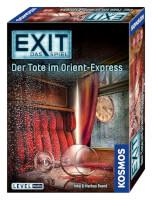 Schachtel Vorderseite, rechte Seite - EXIT – Das Spiel: Der Tote im Orient-Express