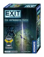 Schachtel Vorderseite - Kennerspiel des Jahres 2017 - EXIT – Das Spiel: Die verlassene Hütte