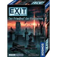 Schachtel Vorderseite - EXIT - Das Spiel: Der Friedhof der Finsternis