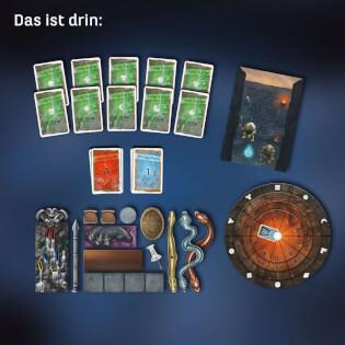 Spielmaterial- EXIT – Das Spiel: Das verfluchte Labyrinth
