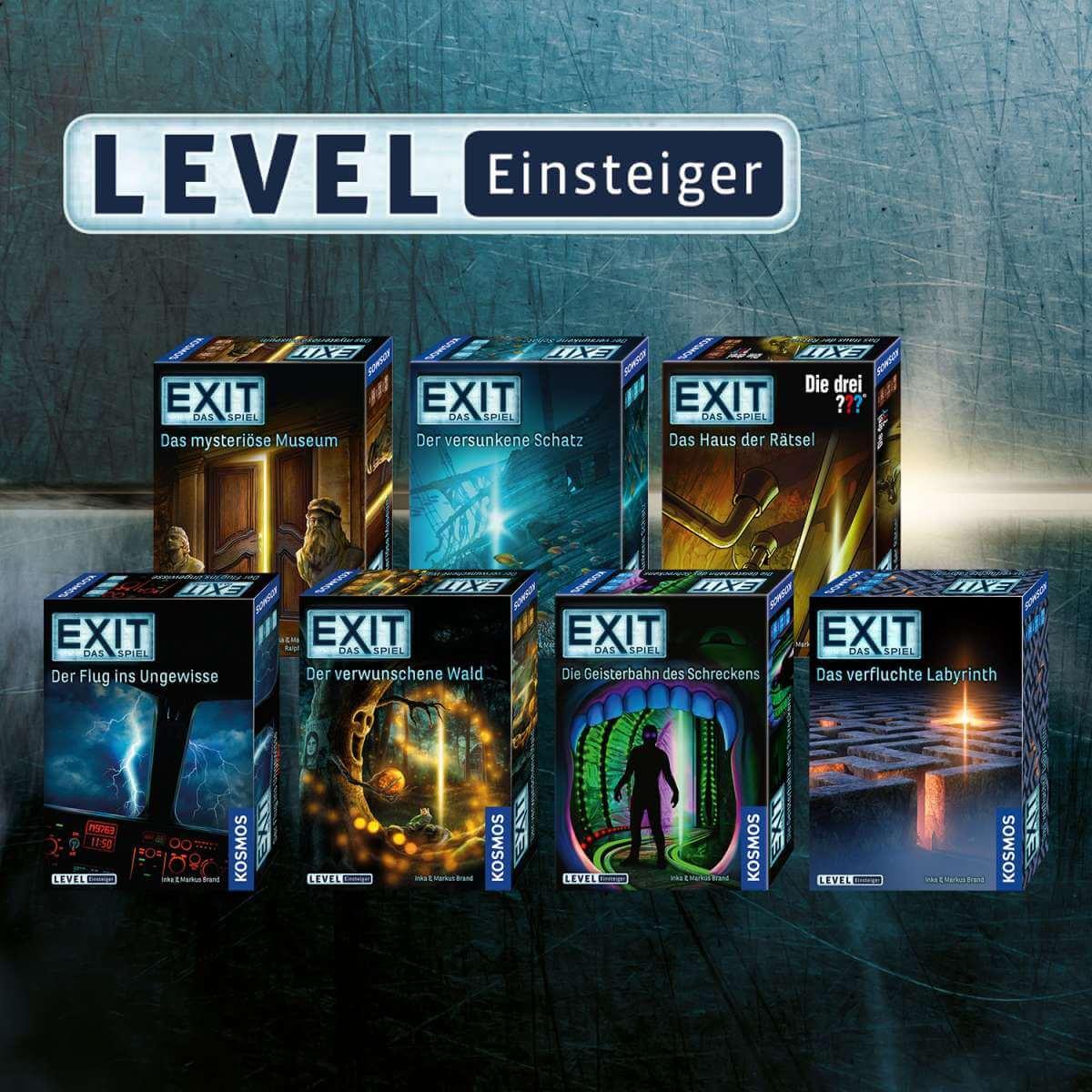 Andere Exit Spiele- EXIT – Das Spiel: Das verfluchte Labyrinth