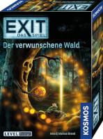 Schachtel Vorderseite, rechte Seite - EXIT - Das Spiel: Der Verwunschene Wald