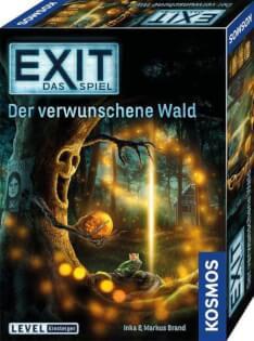 Schachtel Vorderseite, rechte Seite- EXIT - Das Spiel: Der Verwunschene Wald