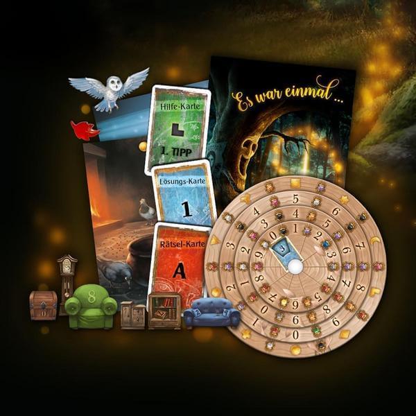 Spielmaterial- EXIT - Das Spiel: Der Verwunschene Wald