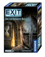 Schachtel Vorderseite, rechte Seite - EXIT - Das Spiel: Die verbotene Burg