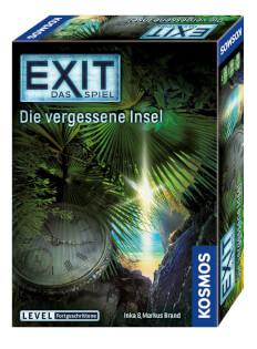 Schachtel Vorderseite, rechte Seite- EXIT – Das Spiel: Die vergessene Insel