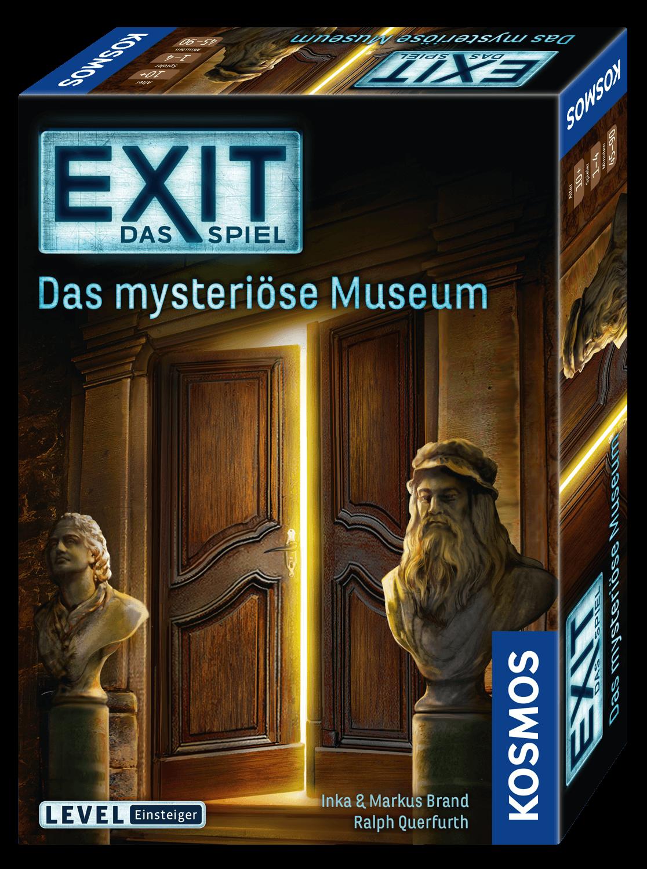 Schachtel Vorderseite, rechte Seite- EXIT - Das Spiel: Das mysteriöse Museum