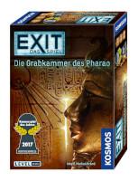 Schachtel Vorderseite, rechte Seite - EXIT - Das Spiel: Die Grabkammer des Pharao