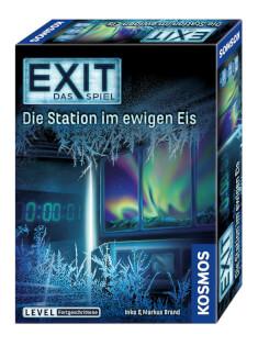 Schachtel Vorderseite, rechte Seite- EXIT – Das Spiel: Die Station im ewigen Eis