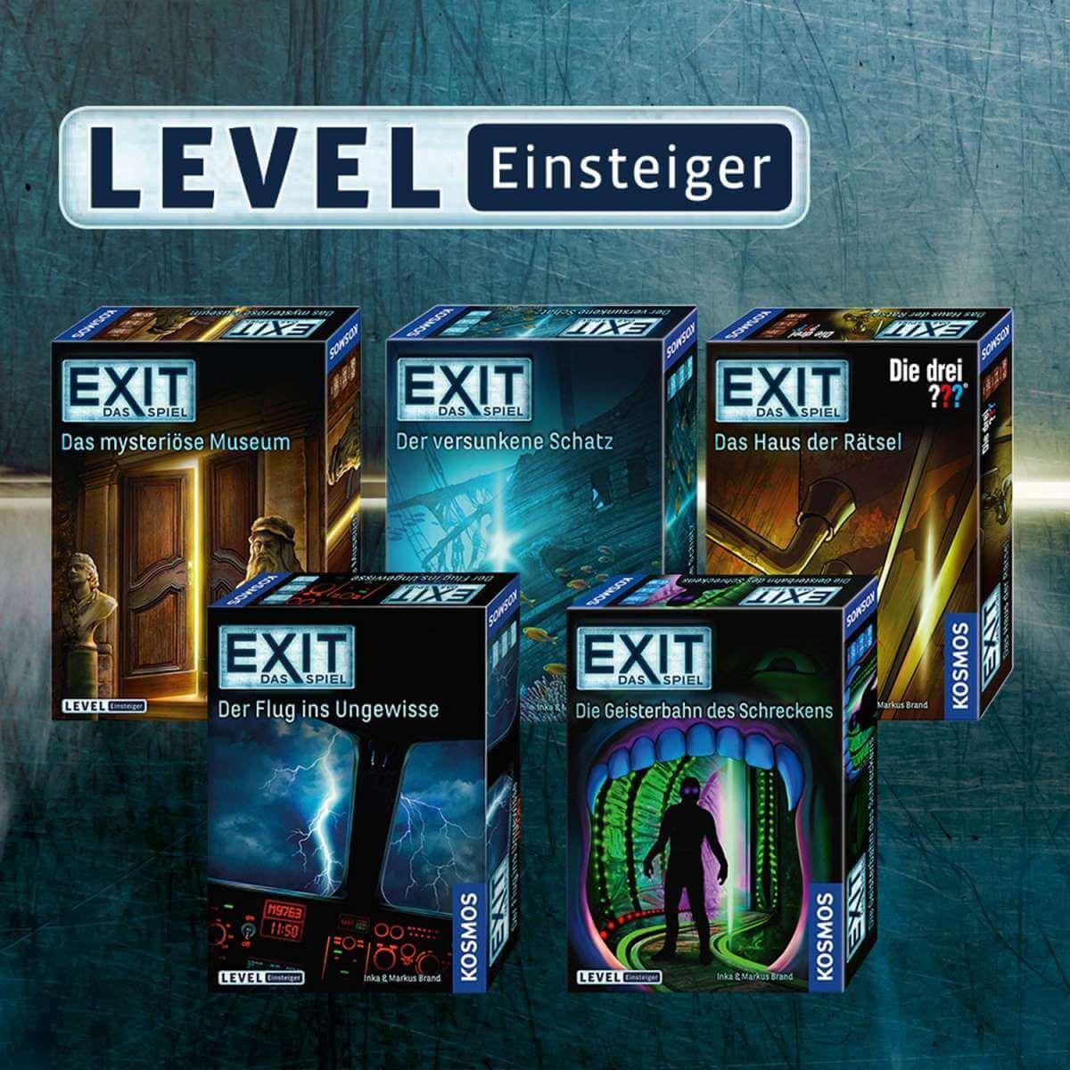 Spieleversionen- EXIT - Das Spiel: Der Flug ins Ungewisse