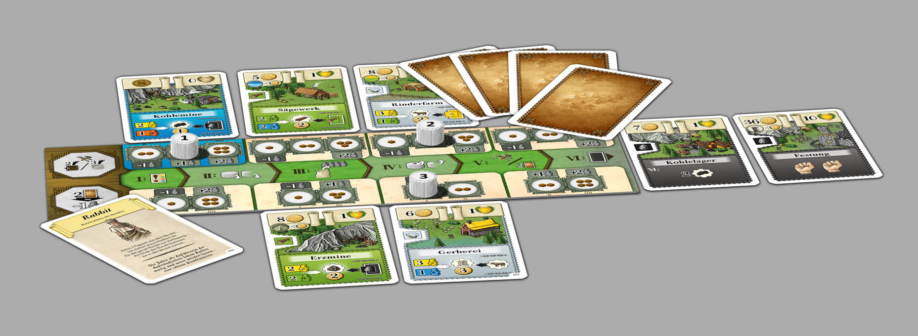 Spielkarten- Aufbruch nach Newdale