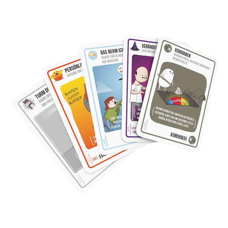 Spielkarten- Exploding Kittens - Barking Kittens