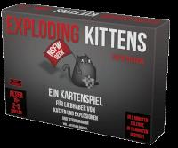 Schachtel Vorderseite - Exploding Kittens - NSFW Edition