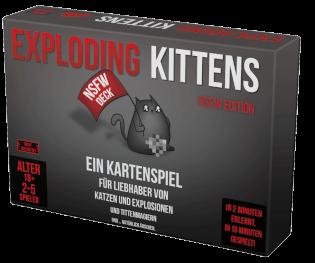 Schachtel Vorderseite- Exploding Kittens - NSFW Edition