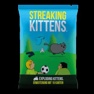 Schachtel Vorderseite- Exploding Kittens - Streaking Kittens
