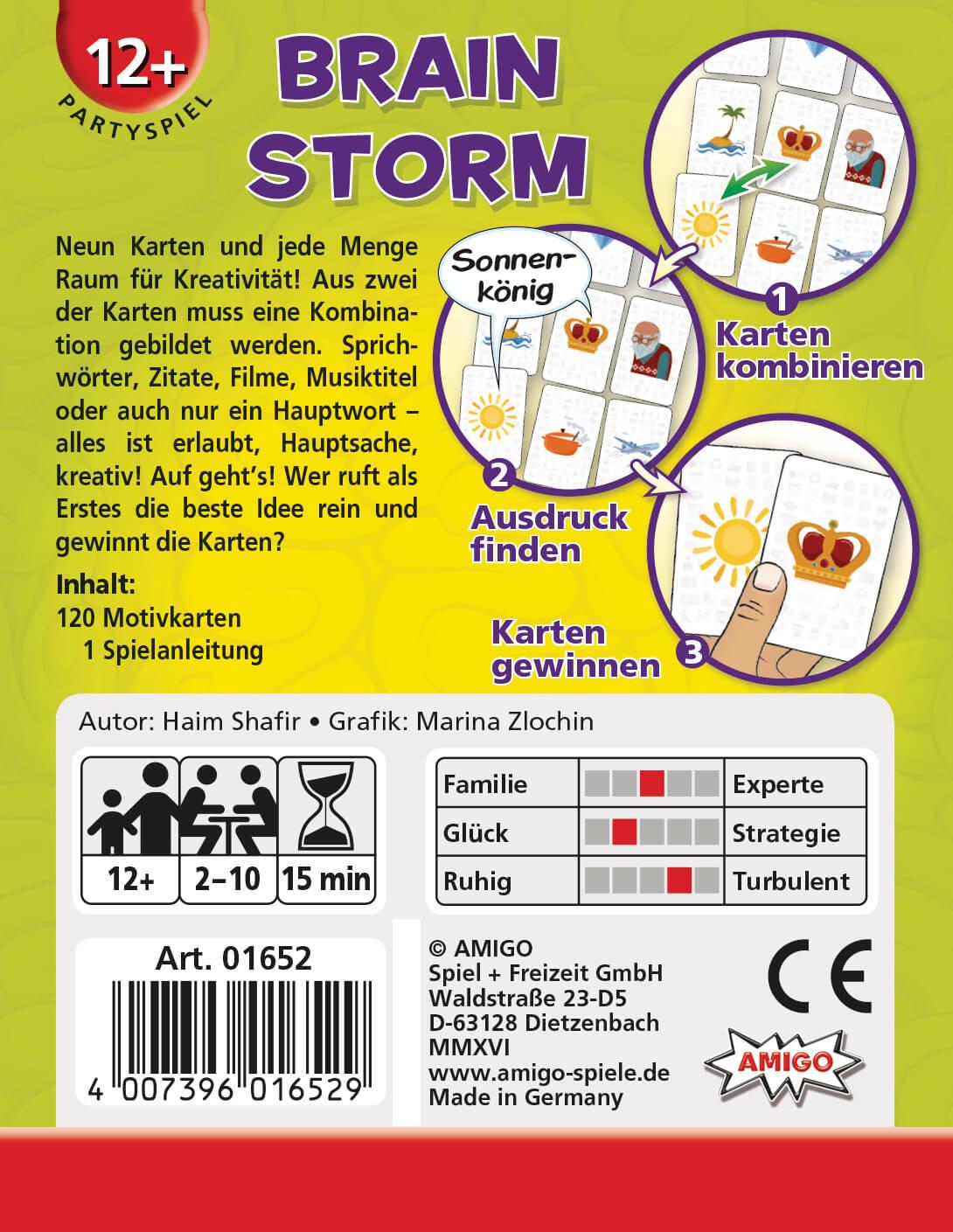 Schachtel Rückseite- Brain Storm
