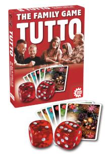 Schachtel und Spielmaterial - Würfel und Karten- Tutto
