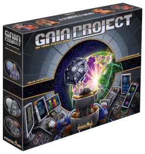 Schachtel Vorderseite, linke Seite- Gaia Project