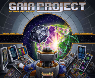 Schachtel Vorderseite- Gaia Project