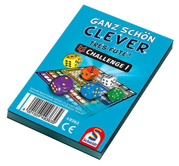 Spielblock- Ganz schön clever – Challenge I