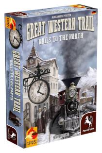 Schachtel Vorderseite, linke Seite- Great Western Trail: Rails to the North