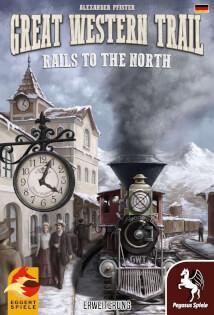 Schachtel Vorderseite- Great Western Trail: Rails to the North