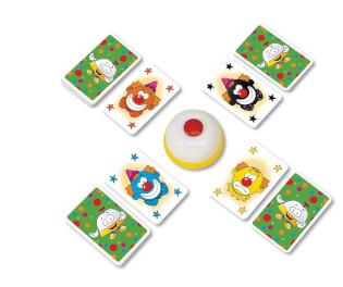 Spielkarten und Glocke- Halli Galli Junior