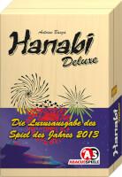 Schachtel Vorderseite - Spiel des Jahres 2013 - Hanabi Deluxe