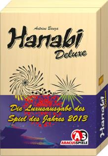 Schachtel Vorderseite - Spiel des Jahres 2013- Hanabi Deluxe