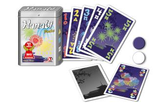 Schachtel mit Karten- Hanabi Pocket