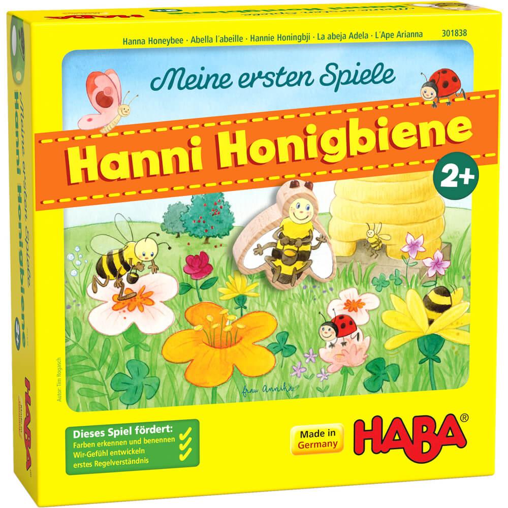 Schachtel Vorderseite- My very first games - Hanna Honeybee