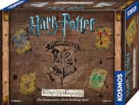 Schachtel Vorderseite - Zauberhaftes Familienspiel - Harry Potter - Kampf um Hogwarts