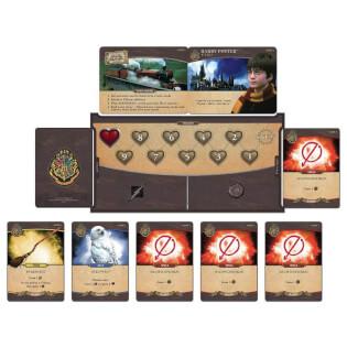Heldentafel mit Stärkemarker und Spielkarten - Zauberhaftes Familienspiel- Harry Potter - Kampf um Hogwarts