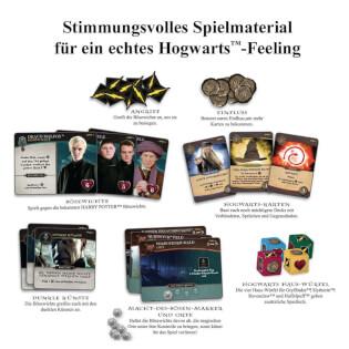 Stimmungsvolles Spielmaterial für ein echtes Hogwarts-Feeling- Harry Potter - Kampf um Hogwarts
