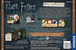 Schachtel Rückseite- Harry Potter: Kampf um Hogwarts - Die Monsterbox der Monster Erweiterung