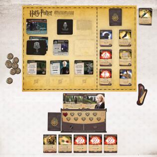 Spielplan- Harry Potter: Kampf um Hogwarts - Die Monsterbox der Monster Erweiterung